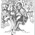 Сказки братьев Гримм. Дух в склянке (Дух в бутылке)