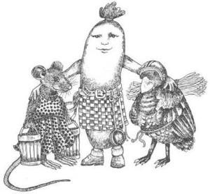 О мышке, птичке и жареной колбасе