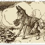 Сказки братьев Гримм. Осёл-оборотень (Салатный осёл)