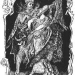 Сказки братьев Гримм. Пёстрая Шкурка (Девушка-Дикарка)