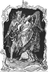 Пёстрая Шкурка (Девушка-Дикарка)