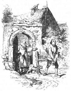 Ранец, шапочка и рожок