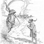 Сказки братьев Гримм. Смерть в кумовьях (Смерть кума)