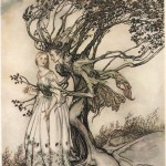 Сказки братьев Гримм. Старушка в лесу (Лесная старуха)