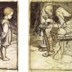 Сказки братьев Гримм. Старый дед и внучёк