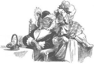 Свадьба госпожи лисицы