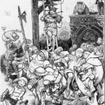 Сказки братьев Гримм. Вор в терновнике (Еврей в терновнике)