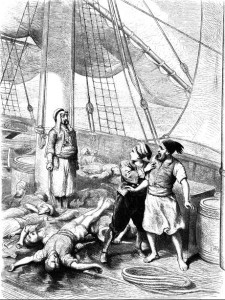 Рассказ о корабле привидений