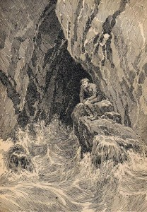 Стинфольская пещера (Шотландская легенда)