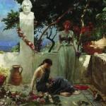 Сказки Ханса Кристиана Андерсена. Роза с могилы Гомера