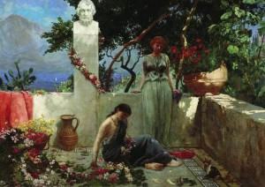 Роза с могилы Гомера