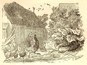 Сказки Ханса Кристиана Андерсена. Дворовый петух и флюгерный