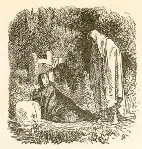 Сказки Ханса Кристиана Андерсена. На могиле ребёнка