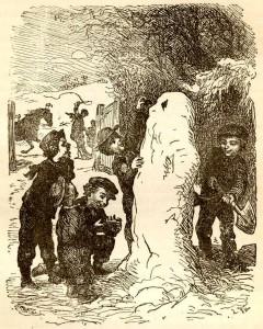 Сказки Ханса Кристиана Андерсена. Снеговик (Снегур)