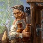 Русские народные сказки. А. Н. Афанасьев. Баба-яга
