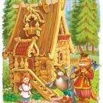 Русские народные сказки. А. Н. Афанасьев. Баба-яга и жихарь