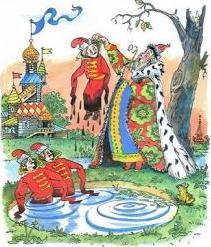 Русские народные сказки. А. Н. Афанасьев. Буря-богатырь Иван коровий сын