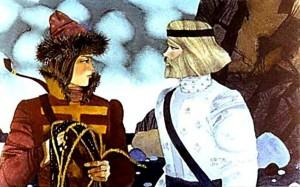 Русские народные сказки. А. Н. Афанасьев. Иван-царевич и Белый Полянин