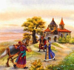 Русские народные сказки. А. Н. Афанасьев. Иван-царевич и Марфа-царевна