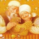 Русские народные сказки. А. Н. Афанасьев. Курочка