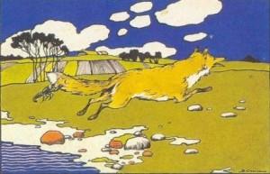 Русские народные сказки. А. Н. Афанасьев. Лиса и рак