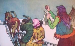 Русские народные сказки. А. Н. Афанасьев. Морозко