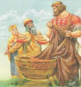 Русские народные сказки. А. Н. Афанасьев. Никита Кожемяка