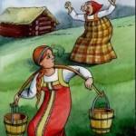 Русские народные сказки. А. Н. Афанасьев. Старуха-говоруха