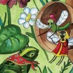 Русские народные сказки. А. Н. Афанасьев. Терем мухи