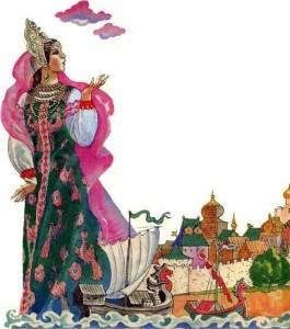 Русские народные сказки. А. Н. Афанасьев. Вазуза и Волга