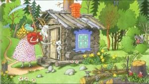 Русские народные сказки. А. Н. Афанасьев. Волк и коза