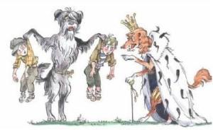 Сказки Чуковского. Собачье царство