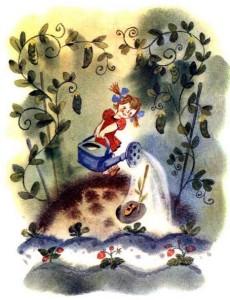 Сказки и стихи Чуковского. Что сделала Мура, когда ей прочли сказку «Чудо-дерево»