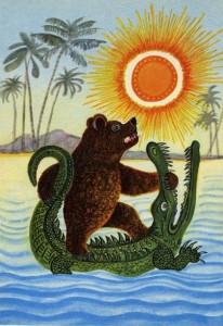 Сказки и стихи Чуковского. Краденое солнце