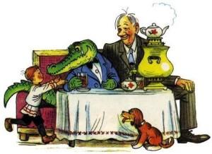 Сказки и стихи Чуковского. Крокодил