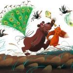 Сказки и стихи Чуковского. Топтыгин и Лиса
