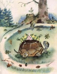 Стихи Чуковского. Черепаха