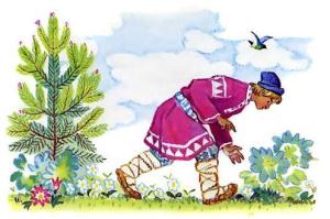 Русские народные сказки. А. Н. Афанасьев. О Иванушке-дурачке