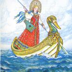 Русские народные сказки. А. Н. Афанасьев. Морской царь и Василиса Премудрая