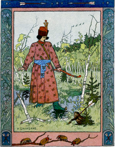 Русские народные сказки. А. Н. Афанасьев. Сказка о лягушке и богатыре