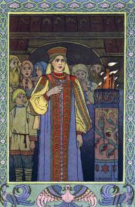 Русские народные сказки. А. Н. Афанасьев. Пёрышко Финиста ясна сокола