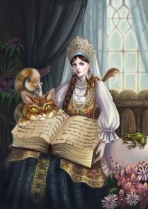 Русские народные сказки. А. Н. Афанасьев. Царевна, разрешающая загадки