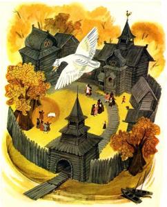 Русские народные сказки. А. Н. Афанасьев. Белая уточка