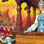 Русские народные сказки. А. Н. Афанасьев. Заколдованная королевна