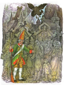 Русские народные сказки. А. Н. Афанасьев. Окаменелое царство