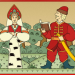 Русские народные сказки. А. Н. Афанасьев. Берёза и три сокола