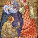 Русские народные сказки. А. Н. Афанасьев. Золотой башмачок