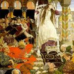 Русские народные сказки. А. Н. Афанасьев. Несмеяна-царевна