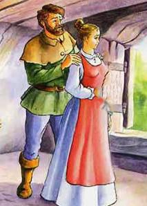 Русские народные сказки. А. Н. Афанасьев. Муж да жена