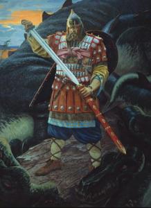 Русские народные сказки. А. Н. Афанасьев. Илья Муромец и змей